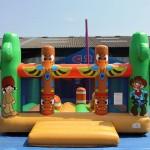 Nouveaux jeux gonflables 2014-2015 : le Parc Western